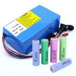 Batería de litio 18650 48V 12AH 48V 500W Batería de bicicleta eléctrica con BMS