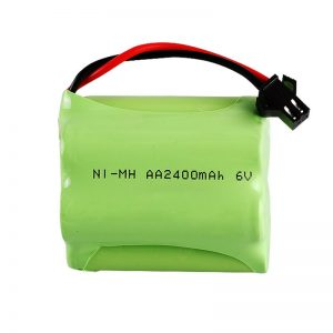 Batería recargable NiMH AA2400 6V