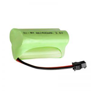 Batería recargable NiMH AA2400 3.6V