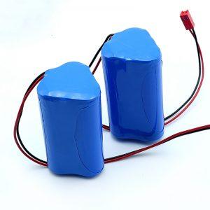 Batería de ión de litio recargable Li-ion 3S1P 18650 10.8v 2250mah para dispositivos médicos