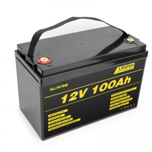 LiFePO4 Battery pack lithium cell 12v 100ah deep cycle battery