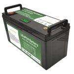Batería de alta capacidad 12V150Ah LiFePO4 con BMS inteligente para lavadora de piso eléctrica