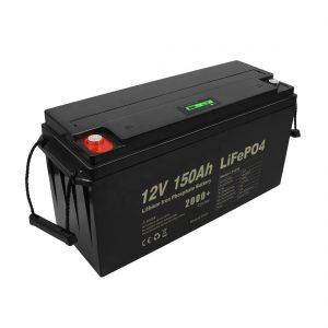 Batería recargable Lifepo4 de ciclo profundo 12v 150Ah 200Ah 250Ah 300Ah