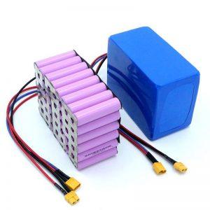 Precio de fábrica 18650 batería de litio recargable de iones de litio de alta potencia de 12 V para la venta