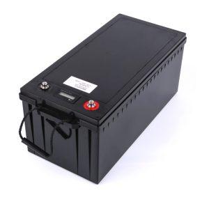 Paquete de batería modificado para requisitos particulares 24V 100AH 12v 200ah lifepo4 para el almacenamiento de energía solar RV del barco