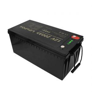 Baterías recargables de nuevo diseño Baterías de iones de litio LiFePO4 12V 200Ah sin mantenimiento
