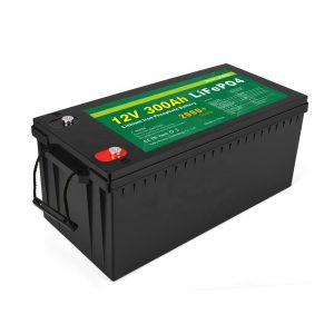 TODO EN UNO Batería de iones de litio de ciclo profundo 12v 300Ah LiFePo4 Batería de almacenamiento