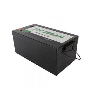 TODO EN UNO Solar RV Marine Leisure Lithium 12V 300Ah Lifepo4 Batería