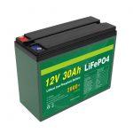 OEM Batería recargable 12V 30Ah 4S5P Litio 2000+ Ciclo profundo Lifepo4 Fabricante de células