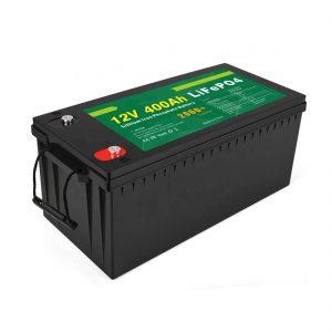 Precio de fábrica de ciclo profundo de la batería LFP solar 12v 400Ah batería solar LiFePO4