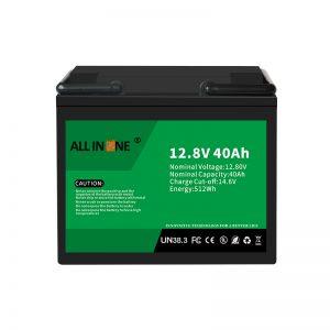 Batería de ión de litio del reemplazo de plomo ácido de 12.8V 40Ah LiFePO4 12V 40Ah