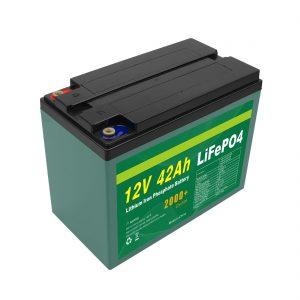 El mantenimiento modificó la batería solar modificada para requisitos particulares de la célula Lifepo4 de 12v 40ah 42ah Lifepo4 con BMS