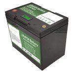 Célula cilíndrica recargable almacenamiento solar de la batería de litio del paquete de 12 voltios 70ah