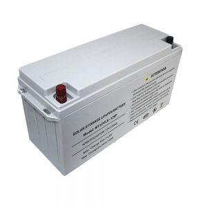 Batería de almacenamiento de energía LiFePO4 12V 80Ah Baterías solares para fuentes de alimentación