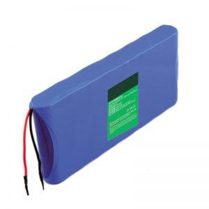 18650 14,4 V 6000 mAh batería de litio contador de partículas láser