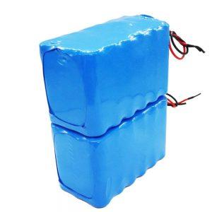 Gran oferta batería recargable 18650 de alto ciclo profundo batería de iones de litio de 24 voltios para bicicleta eléctrica