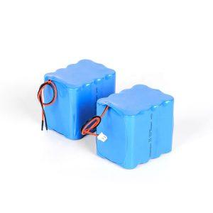 Batería de litio recargable modificada para requisitos particulares 18650 alta batería li-ion de la descarga 3s4p 12v