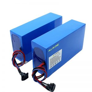 TODO EN UNO celdas 13S7P 18650 48v 20.3ah batería de bicicleta eléctrica