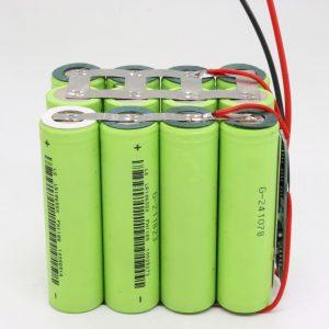 Batería 12v 10AH del ciclo profundo modificado para requisitos particulares al por mayor del tablero del PWB de la prenda impermeable 18650 del litio 4s3p para la herramienta eléctrica