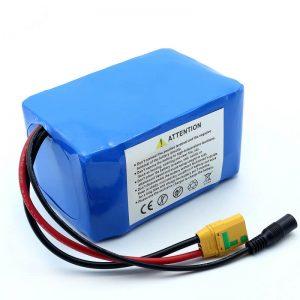 Batería de rack trasera ultradelgada de alta calidad ODM e-bike 14s2p 52v 7ah