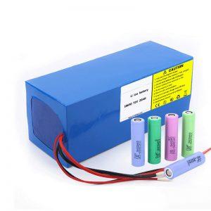 Batería de litio 18650 72V 20Ah Baja tasa de autodescarga 18650 72v 20ah Batería de litio para motocicletas eléctricas