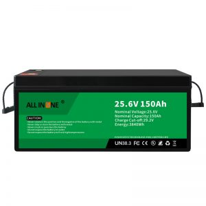 Batería de ión de litio del reemplazo de plomo ácido de 25.6V 150Ah LiFePO4 24V 150Ah