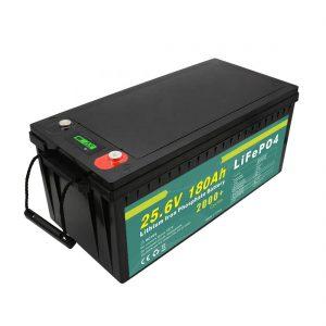 Paquete de batería recargable de 24v180ah (LiFePO4) para farola solar