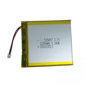 Baterías de polímero de litio de 3.7V 2200mAh para dispositivos domésticos inteligentes