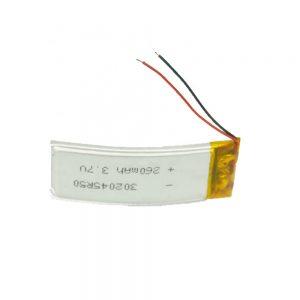 Batería LiPO personalizada 302045 3.7V 260mAh