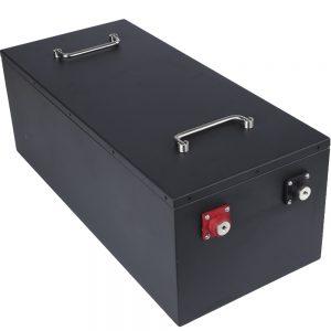 Paquete de baterías de ciclo profundo de 36 V 12S1P LFP Paquete de baterías de iones de litio de 36 V Rickshaw EV RV AGV E-bike Lifepo4 Batería de 36 V 100 Ah