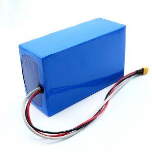 Batería recargable de litio 36V 10Ah Li -on 18650 Batería eléctrica para monopatín
