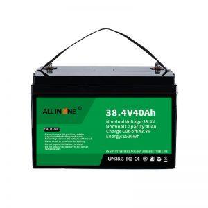 Batería del fosfato del hierro del litio de 8.4V 40Ah para VPP / SHS / Marine / Vehicle 36V 40Ah