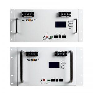 TODO EN UNO 10 kwh 7KWH 5kwh batería LiFePo4 Batería de litio 48V 100Ah 150Ah 200Ah UPS de ciclo profundo Almacenamiento de energía de respaldo solar