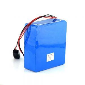 Batería de ión de litio recargable de 48V 15Ah 20Ah batería de la bici de la vespa eléctrica de 48 voltios