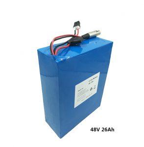 Batería de litio 48v26ah para scooters eléctricos etwow batería de grafeno de motocicleta eléctrica fabricantes de baterías de litio de 48 voltios