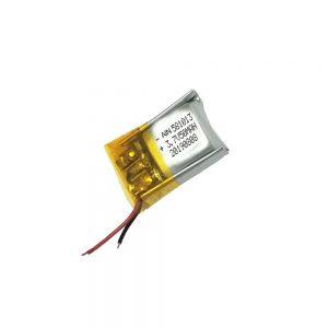 Batería de polímero de litio de alta calidad 3.7V 50mAh 581013 batería