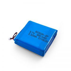 Batería recargable personalizada de 3.7V 450530550750750800 900Mah Li-Po Lipo