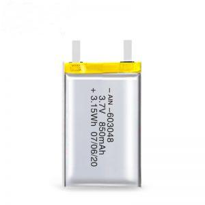 Batería recargable LiPO 603048 3.7V 850mAh / 3.7V 1700mAH / 7.4V 850mAH