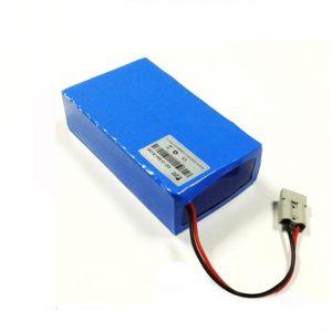 La batería de ión de litio empaqueta la batería eléctrica de la vespa de 60v 12ah