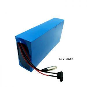 Batería de recarga personalizada 60v 20ah EV batería de litio