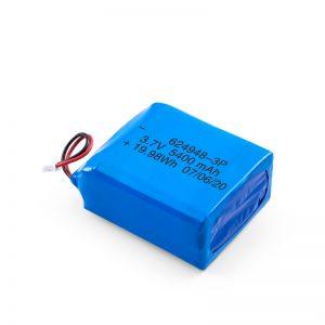 Batería recargable LiPO 624948 3.7V 1800mAH / 3.7V 5400mAH