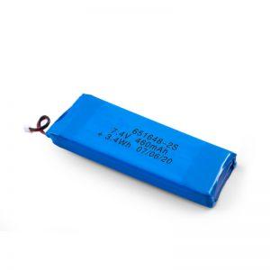 Batería recargable LiPO 651648 3.7V 460mAh / 3.7V 920mAH / 7.4V 460mAH