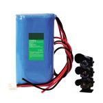 18650 batería de litio de repuesto de 7.2V 2500mAh para equipo de señal de seguimiento