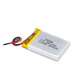 Venta al por mayor de China 3.7V 600Mah 650Mah Mini batería de litio de polímero de litio Paquete de baterías recargables para coche de juguete