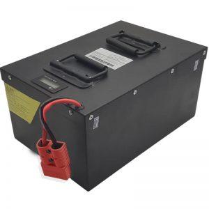 TODO EN UNO Batería de alta capacidad 72V60Ah LiFePO4 con BMS inteligente para vehículos eléctricos