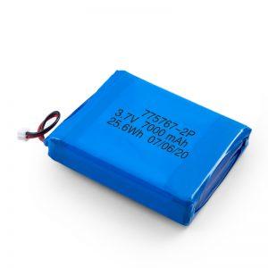 Batería Lipo de polímero de 3,7 V 2450 2600 3900 4000 4500 4700 5000 6000 9000 Mah