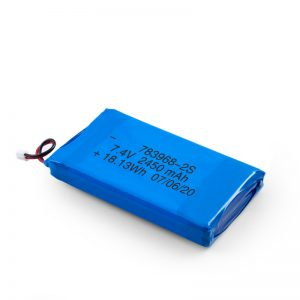 Batería recargable LiPO 783968 3.7V 4900mAH / 7.4V 2450mAH / 3.7V 2450mAH /