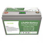 TODO EN UNO Batería LiFePO4 de ciclo profundo 12V100Ah con BMS inteligente para el sistema de almacenamiento de energía doméstico