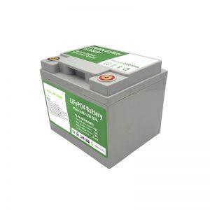 TODO EN UNO 2000 ciclos 12V50Ah LiFePO4 Batería con BMS inteligente para el sistema de almacenamiento de energía doméstico