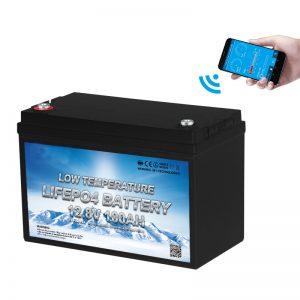 Batería LiFePO4 de baja temperatura 12V 100AH